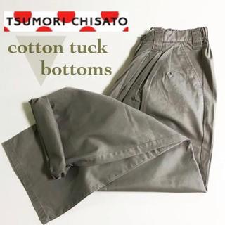 ツモリチサト(TSUMORI CHISATO)の▼ TSUMORICHISATO tuck bottoms ▼(カジュアルパンツ)