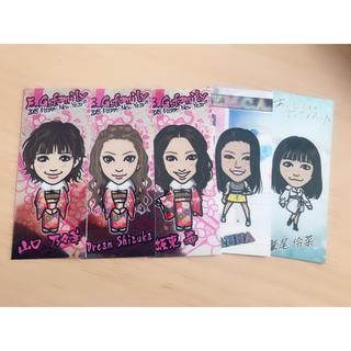 イーガールズ(E-girls)のE-girls 千社札セット(ミュージシャン)