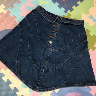 ツモリチサト(TSUMORI CHISATO)のTSUMORI CHISATO デニムスカート(ひざ丈スカート)