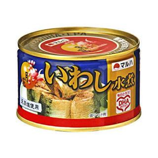 マルハニチロ 月花 いわし水煮 200g x 12缶(缶詰/瓶詰)