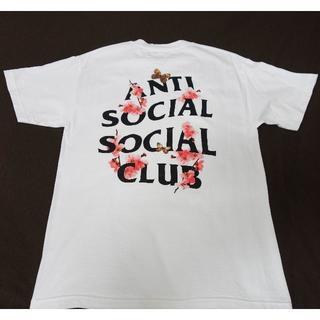 アンチ(ANTI)のAntiSocialSocialClub 2018 Tシャツ M 白 KKOCH(Tシャツ/カットソー(半袖/袖なし))