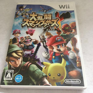 ウィー(Wii)のWii 大乱闘スマッシュブラザーズX(家庭用ゲームソフト)
