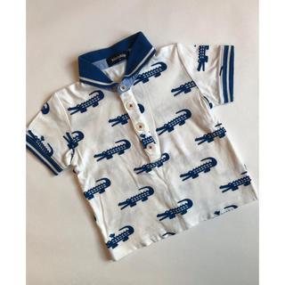 クレードスコープ(kladskap)のクレードスコープ  ♡ 襟付き ワニ トップス(Tシャツ/カットソー)