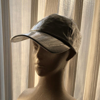 ザラ(ZARA)のMJ STYLE  シルバー キャップ 帽子 zara black pink(キャップ)