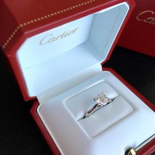 カルティエ(Cartier)のカルティエ  ダイヤモンド  リング(リング(指輪))