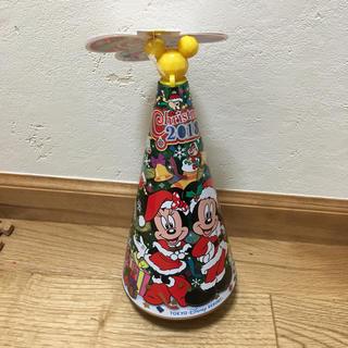ディズニー(Disney)の2018ver クリスマスツリーの缶(インテリア雑貨)