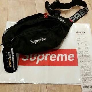 Supreme - 新品未使用 Supreme 18ss Waist bag ウエストバッグ 黒