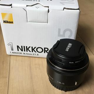 ニコン(Nikon)のNikon 単焦点レンズ 1 NIKKOR 18.5mm f/1.8(ミラーレス一眼)
