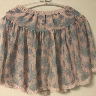 ジーユー(GU)のチュールスカート150(スカート)