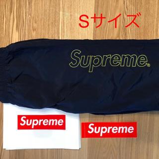 Supreme - 美品 supreme nylon pant ウォームアップ ネイビー
