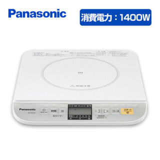 パナソニック(Panasonic)のパナソニック卓上IH調理器 KZ-PH32-W(IHレンジ)
