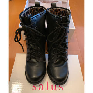 サルース(salus)の袴用 2wayブーツ 編み上げ ブーツ(ブーツ)