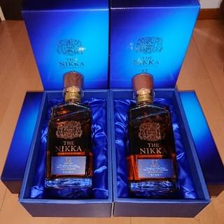 ニッカウイスキー(ニッカウヰスキー)のザ.ニッカ12年 700ml 4本セット(ウイスキー)