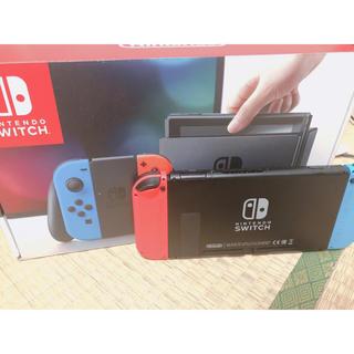 Nintendo Switch - 任天堂switch ネオンブルー ネオンレッド