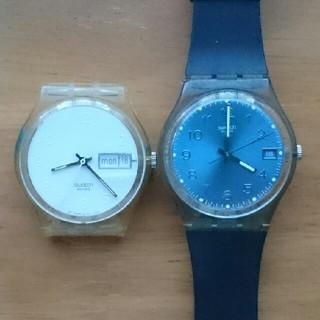 スウォッチ(swatch)のswatch白&黒セット(腕時計)