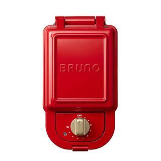 BRUNO/ブルーノ ホットサンドメーカー シングル 赤(サンドメーカー)