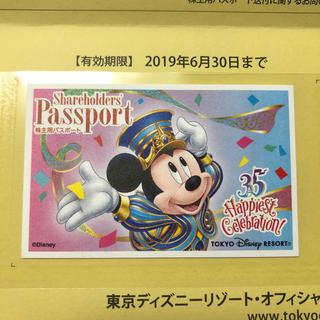 ディズニー(Disney)の【使用済】35周年ディズニーパスポート(その他)