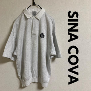 シナコバ(SINACOVA)のSINACOVA スウェットポロシャツ(ポロシャツ)