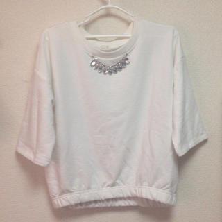 ジーユー(GU)の新品同様 GU トップス(Tシャツ(長袖/七分))