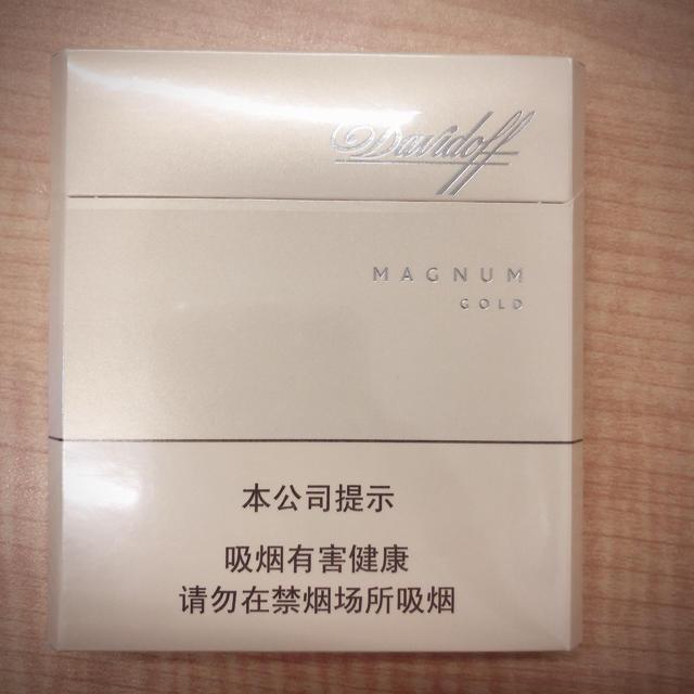 DAVIDOFF(ダビドフ)のダビドフ マグナムゴールド メンズのファッション小物(タバコグッズ)の商品写真
