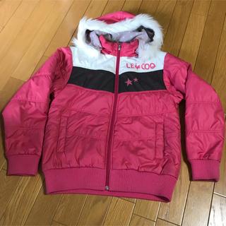 ルコックスポルティフ(le coq sportif)のルコック ジャンパー 女の子用 160cm ピンク(ジャケット/上着)