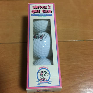 ディズニー(Disney)のミニーちゃん ゴルフボール made in USA (その他)