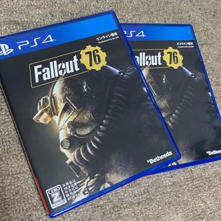 PlayStation4 - fallout76★フォールアウト76★2本セット!psplus7日間無料券付✨