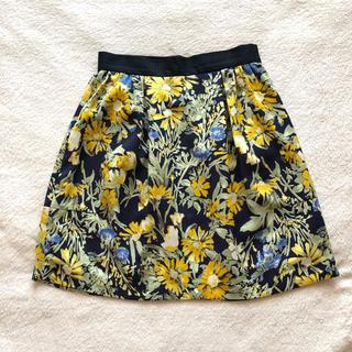 バナーバレット(Banner Barrett)のバナーバレット*花柄スカート(ミニスカート)