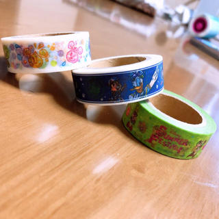 ディズニー(Disney)のディズニー 夏祭り ミッキー ミニー クラリス マスキングテープ(テープ/マスキングテープ)