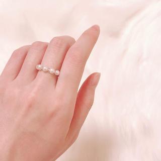 スナイデル(snidel)のsmall pearl ring ♡(リング)