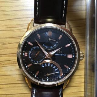 オリエント(ORIENT)のオリエントスター レトログラード WZ0031DE(腕時計(アナログ))