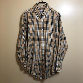バーバリー(BURBERRY)の良品 90s old Burberrys ノバチェック シャツ 37 S(シャツ)