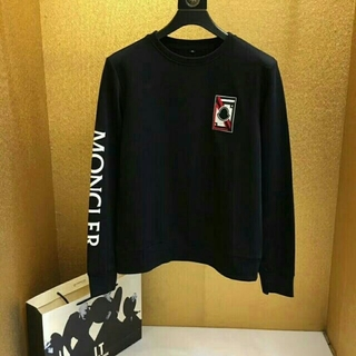 MONCLER - Moncler 黒新品 トップス モンクレールTシャツ/カットソー(七分/長袖)