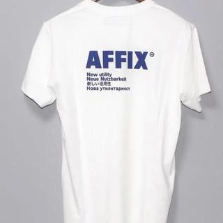 Supreme - 【新品未使用】Affix ブラック ロゴTシャツ