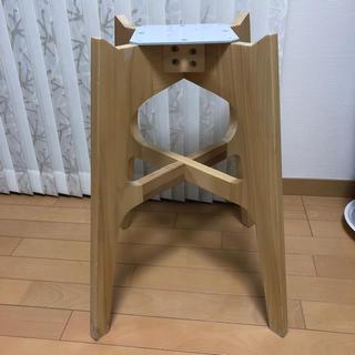 アマダナ(amadana)のamadana  ウォーターサーバー 置台 ホワイト 木製置台(その他)