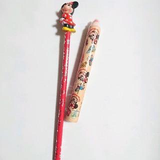 ディズニー(Disney)のディズニーランド アンティーク 消しゴム&鉛筆 セット(その他)