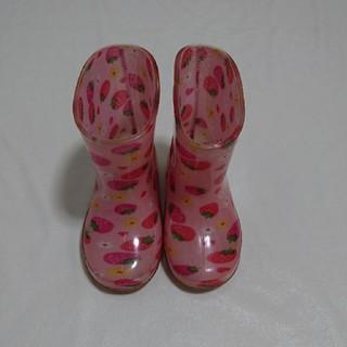 長靴 14,0cm ベビー女の子! 梅雨に備えて♥️(長靴/レインシューズ)