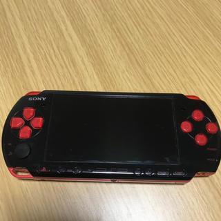 ソニー(SONY)のpsp本体(携帯用ゲーム本体)