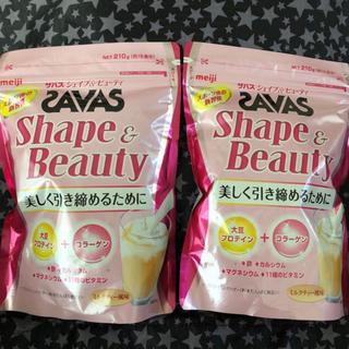 SAVAS - ザバス シェイプ&ビューティ 210g 2袋