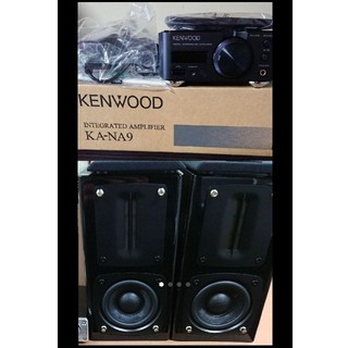 ケンウッド(KENWOOD)のケンウッド  コンパクトアンプ「KA-NA9」 スピーカー「LS-NA9」セット(スピーカー)
