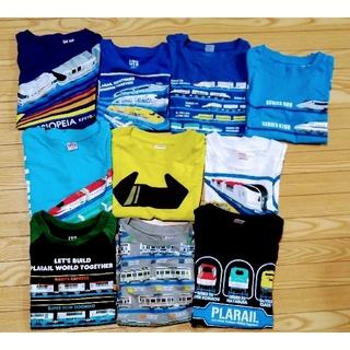 ユニクロ プラレール Tシャツ まとめ売り 110サイズ