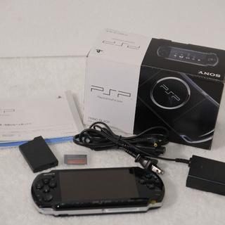 ソニー(SONY)のSONY PSP-3000 メモリースティック32GB付き(携帯用ゲーム本体)