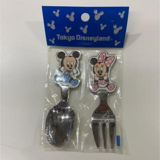 ディズニー(Disney)の新品☆ディズニー ベビースプーン&フォーク(スプーン/フォーク)