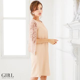 ガール(GIRL)のGIRL パーティー ドレス(ミディアムドレス)
