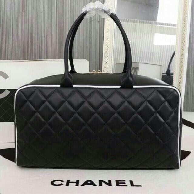 691b5d6dab9a CHANEL(シャネル)のCHANEL ノベルティ ボストンバッグ レディースのバッグ(ショルダーバッグ)