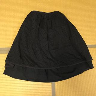 キッドブルー(KID BLUE)の☆KID BLUE☆紺色重ねスカート☆(ロングスカート)