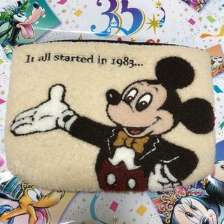 Disney - ディズニーリゾート 35周年 ミッキー ポーチ