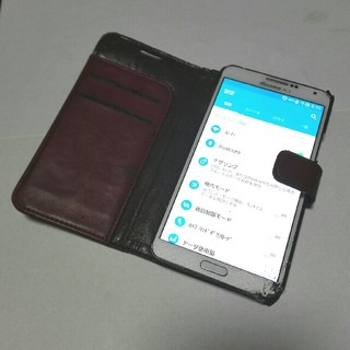 サムスン(SAMSUNG)のGALAXY Note3 ドコモ SC-01F 難あり(スマートフォン本体)