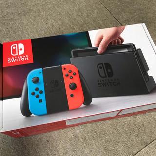 Nintendo Switch - 【新品未開封】ニンテンドースイッチ 本体 ネオンブルー ネオンレッド