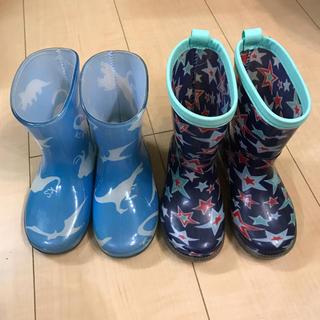 クレードスコープ(kladskap)の2点セット 14cm 15cm クレードスコープ  長靴 レインブーツ 男の子(長靴/レインシューズ)